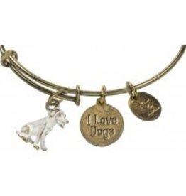 CHARM BRACELET - LOVE DOGS