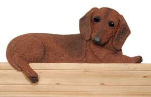 Door Topper Dachshund-Red  sc 1 st  Captivating Canines & Door Topper Dachshund-Red - Captivating Canines