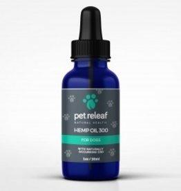 Pet Releaf 1oz Hemp Oil 300 mg CBD for Dogs & Cats