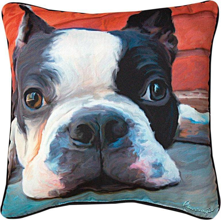 image boston products pillow beeniebee decorative product terrier cover linen com