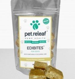 Large Breed Pet Releaf 6.5 oz Dog Edibites Peanut Butter & Banana