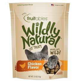Fruitables 2.5 oz Cat Wildy Natural Chicken Treat