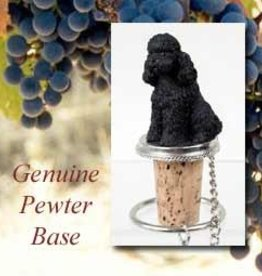 Bottle Topper-Poodle Black