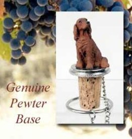 Bottle Topper-Irish Setter