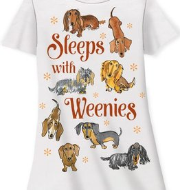 Sleeps With Weenies Sleep Shirt