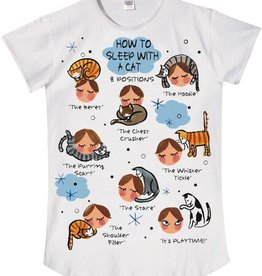 How to Sleep with a Cat Sleep Shirt