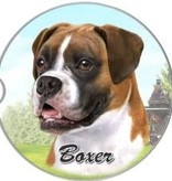 Absorbent Car Coaster - Boxer, UnCropped