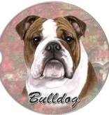 Absorbent Car Coaster - Bulldog