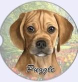 Absorbent Car Coaster - Puggle