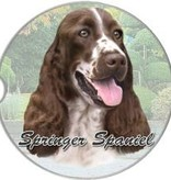 Absorbent Car Coaster - Springer Spaniel