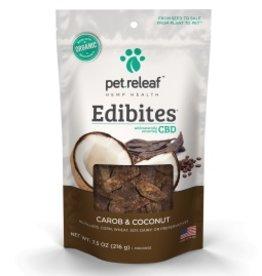 Pet Releaf 6.5 oz Dog Edibites Carob & Coconut