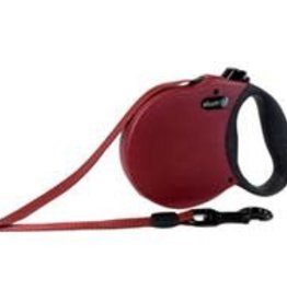 Alcott Retractable Leash Up To 65 Pounds Red 16'