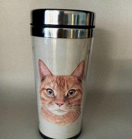 Pet Tumbler-Orange Tabby Cat