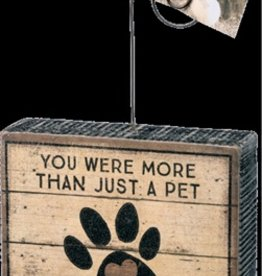 Photo Block-You Were More Than Just a Pet