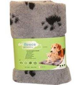 "Dri-Fleece Pet Bedding With Paws 20""x30"""