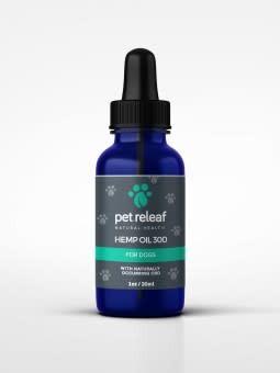 Pet Releaf Hemp Oil 700  1 oz 200 mg Hemp Oil for Dogs