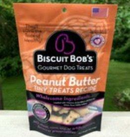 Biscuit Bob 6 oz Dog Peanut Butter Tiny Treats