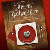 Author Hearts Gather Here Spiral Hardback
