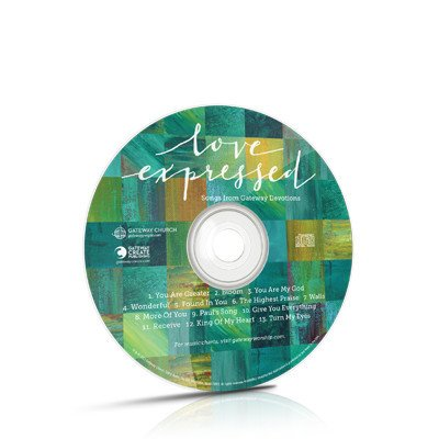 MUS WAREHOUSE OVERSTOCK Love Expressed Devotional Music CD