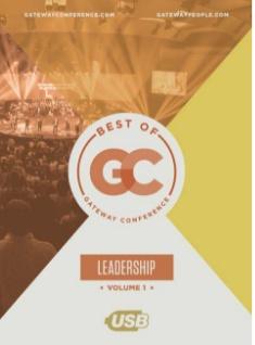 GATEWAY PUBLISHING Best of Gateway Conference Volume 1: Leadership USB