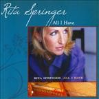 Author Rita Springer: All I Have CD