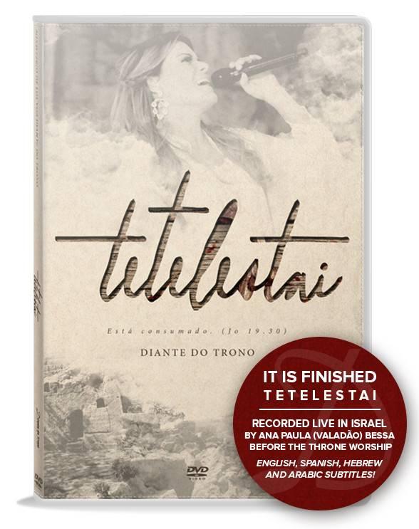 Author Ana Paula Bessa: It Is Finished Portuguese DVD