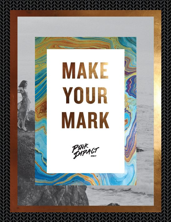 GATEWAY CHURCH Pink Impact 2017 Make Your Mark DVDS **PRE-ORDER**
