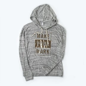 Burnout Foil Hoodie - Make Your Mark
