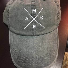 Make Your Mark Dad Hat gry