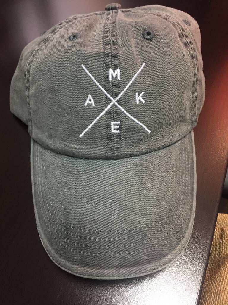 MERCH4CHURCH Make Your Mark Dad Hat gry