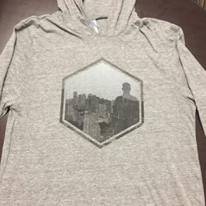 Hexagon Graphic T-Shirt Hoodie