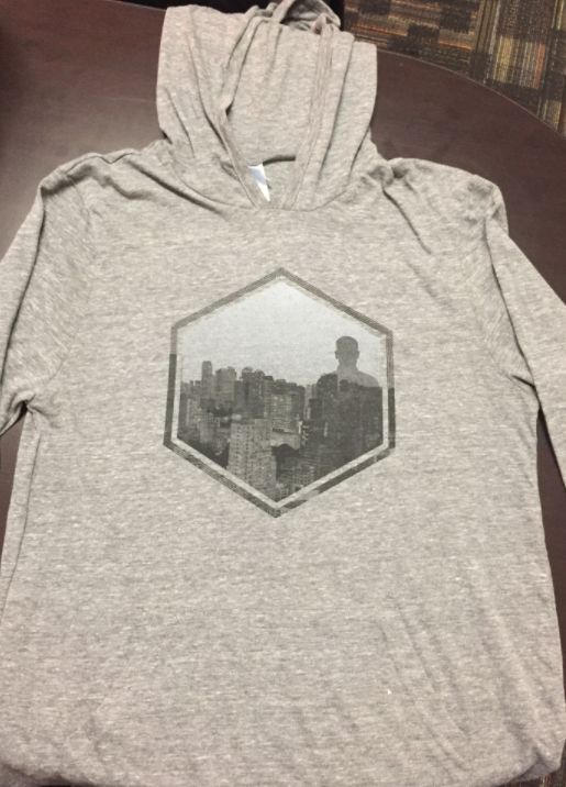 Hexagon Graphic T-Shirt Hoodie