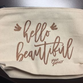 Makeup Bag - Hello Beautiful