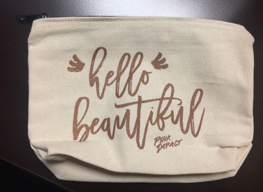 Makeup Bag - Hello Beautiful