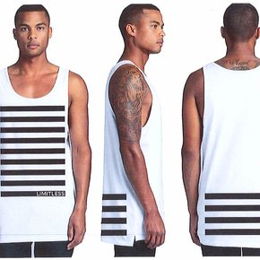 Limitless Stripe Tank