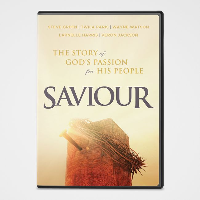 MUS WAREHOUSE OVERSTOCK Saviour: Story of Gods Passion for His People DVD