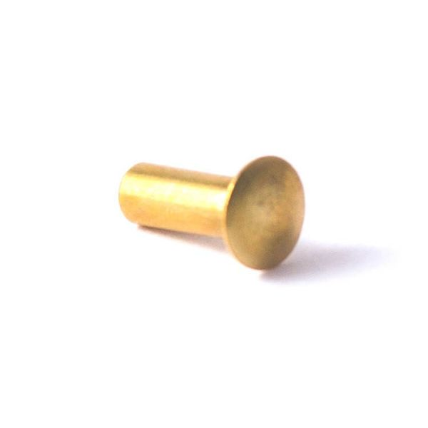 1/8'' x 5/16'' Brass Sail Rivet