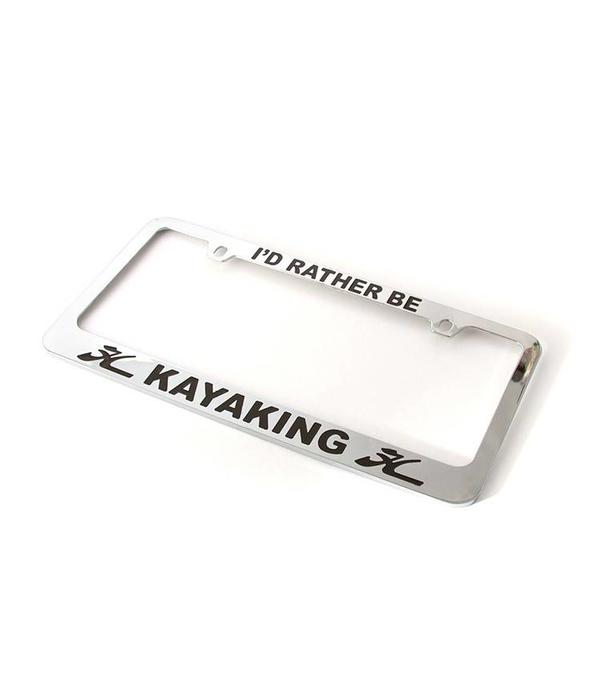 Hobie License Plate Frame Kayaking