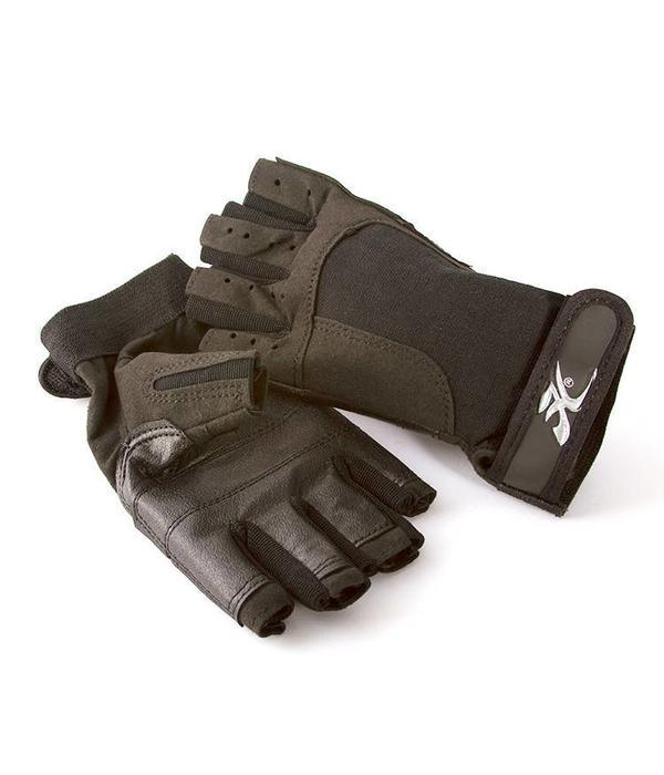 """""""H"""" Logo Fingerless Gloves"""