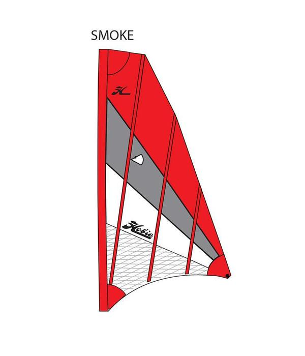 Hobie Sail Adv V2 Red/Gray/White (SMOKE)