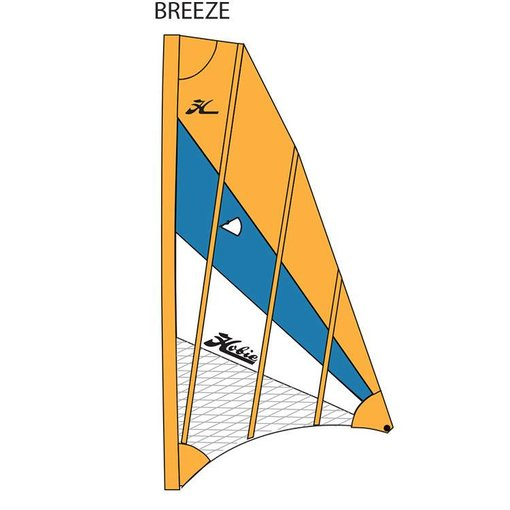 Hobie Sail Adv V2 Turquoise/Papaya/White (BREEZE)