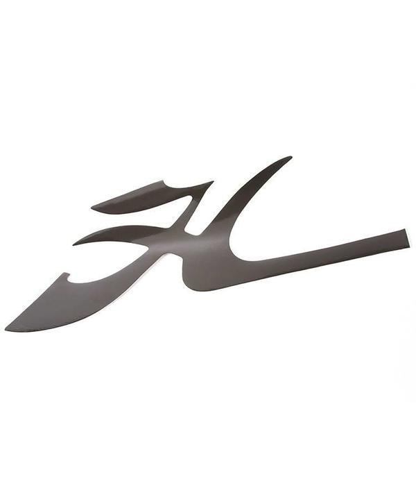"Hobie Decal Hull Flying ""H"" Black"