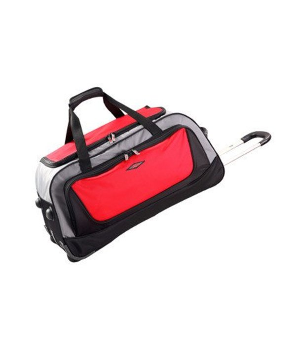 Hobie Path Wheeled Duffel Bag Black / Red Large