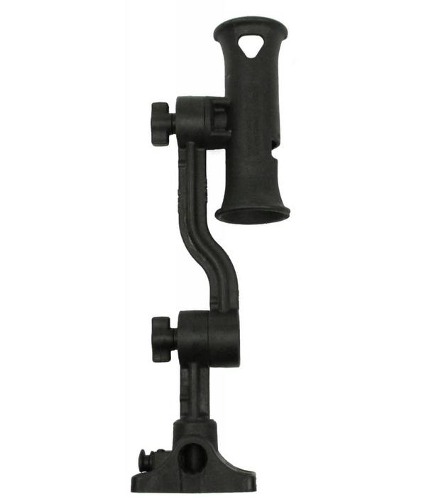 Yak-Attack Zooka Tube, post and spline with 4'' arm and 8'' extension arm, plunger deck mount included, no Hardware