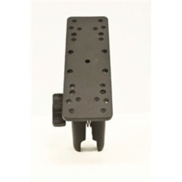 "Universal Electronics Mount, 6 1/4"" X 2"", Includes composite connector, fits 1"" Ball Interface, No Base"