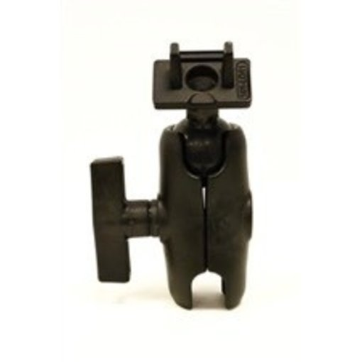 Yak-Attack (Discontinued) RAM Mounts Ball Mount for Lowrance Elite-5 & Mark-5 Series Fishfinders, Includes composite connector, fits 1.5'' Ball Interface, No Base