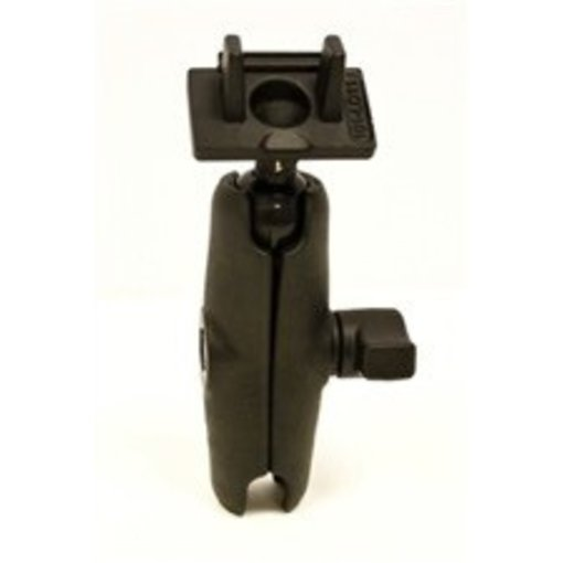 Yak-Attack (Discontinued) RAM Mounts Ball Mount for Lowrance Elite-4 & Mark-4 Series Fishfinders, Includes composite connector, fits 1'' Ball Interface, No Base