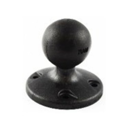 Yak-Attack (Discontinued) RAM Mounts 2.5'' Diameter Composite Base with 1.5'' ball, Includes Hardware