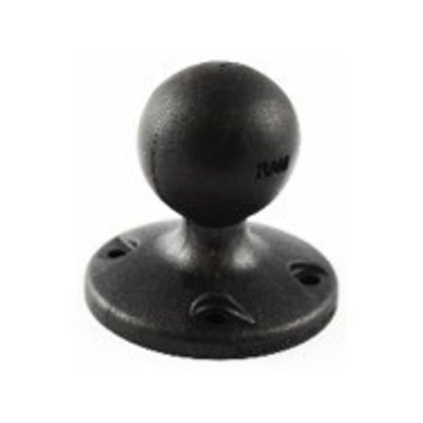 "2.5"" Diameter Composite Base with 1.5"" ball, Includes Hardware"