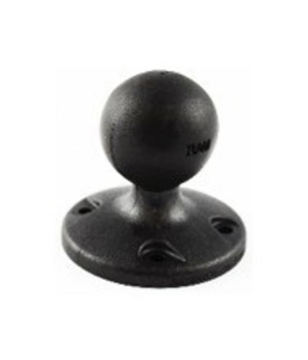 "RAM Mounts® 2.5"" Diameter Composite Base with 1.5"" ball, Includes Hardware"